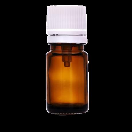 5 ml -es barna üveg