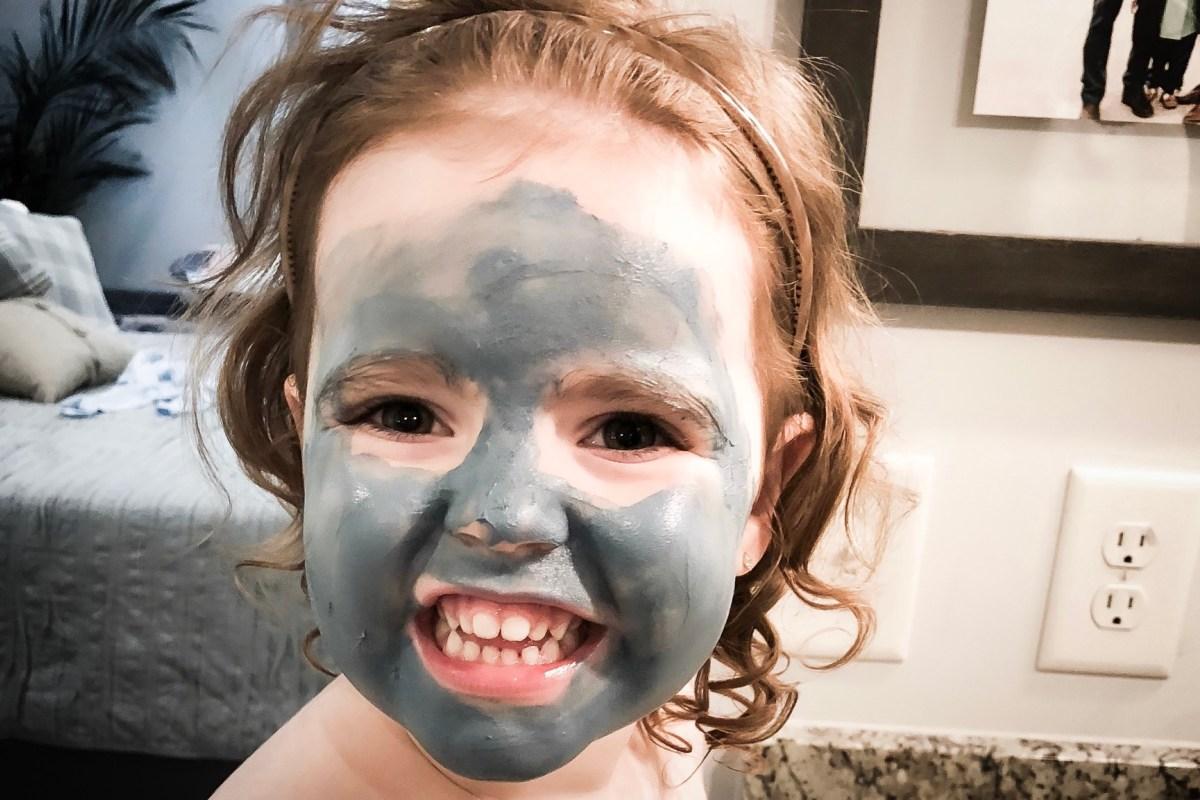 gyermek natúr arcpakolás