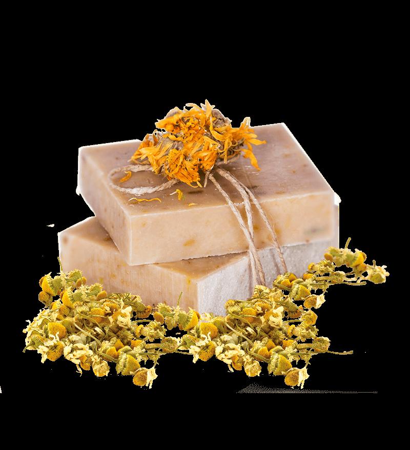 natúr kézműves szappan körömvirág